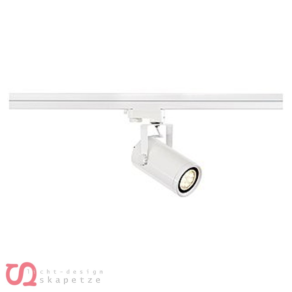 SLV Euro Spot Integrated LED, 13 W, 3000K, 36 Grad inklusive 3P, Adapter 153951