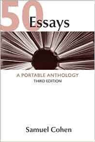 50 essays a portable anthology