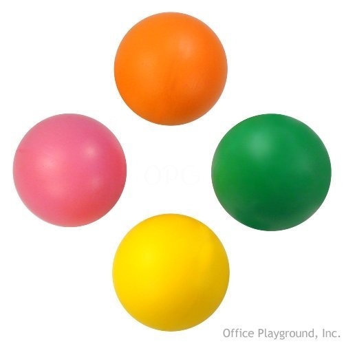US Toy Neon Stress Balls (12 Pack)