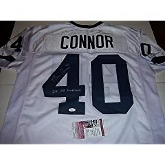 Dan Connor Signed Jersey - 2x All American Jsa coa - Autographed College Jerseys