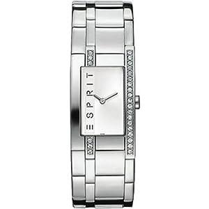 Esprit Silver Houston Analog Quarz Damenuhr ES000M02816