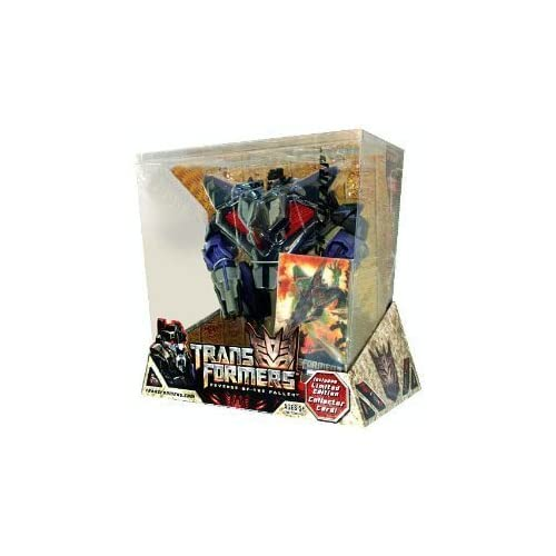 TRANSFORMERS – SKYWARP (DECEPTICON) incl. Limited Edition Collector 3D Karte – VOYAGER CLASS – REVENGE OF THE FALLEN – HASBRO günstig als Geschenk kaufen