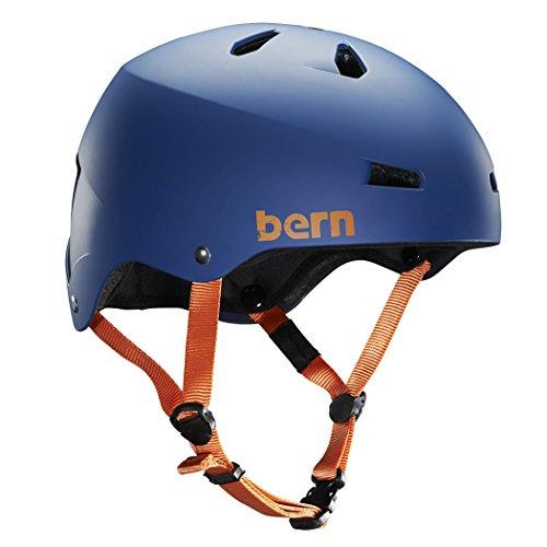 (バーン)Bern MACON Matte Blue Sサイズ BE-VM2BHMB-02