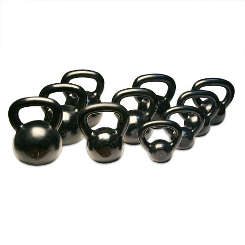 Body Solid KBS275 5 to 50-Pound Kettle Bell Set