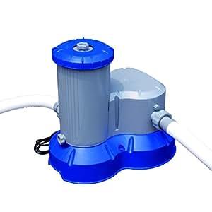 Bestway Flowclear Pool Filter Pump Grey 2500 Gallons