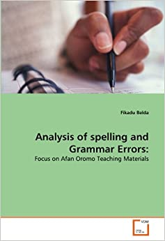 Literature review on spelling errors