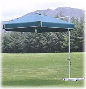 southern patio 10 foot round offset umbrella green discontinued by