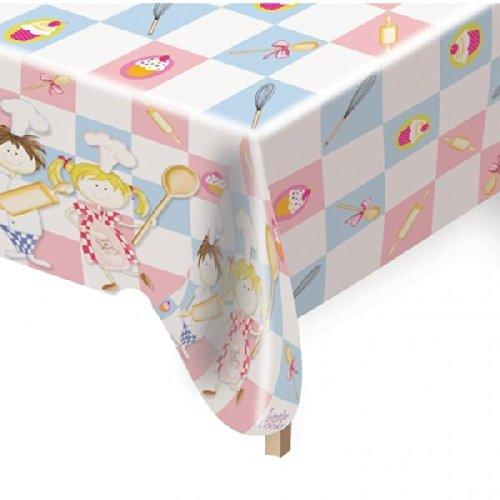 Amscan 120x 180cm Little Cooks Kunststoff Tisch Cover