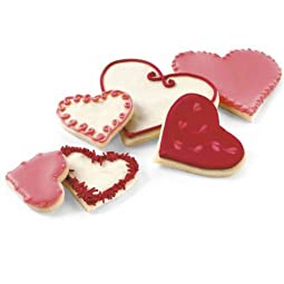 Cusipro Heart Cookie Cutters
