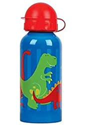 Stephen Joseph Stainless Steel Water Bottle, Dino
