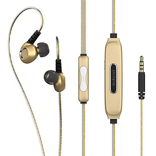 dodocool Auriculares Deportivos In-Ear con luz azul Auriculares Estéreos de 3.5mm Audio...