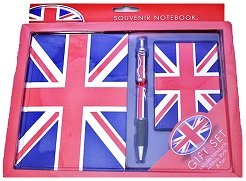 Notebook, Address Book and Pen Gift Set