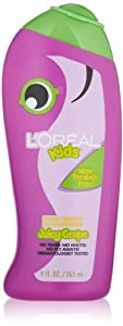 L'Oreal Kids Extra Gentle Grape Conditioner for Thin to Normal Hair, 9.0 Fluid Ounce
