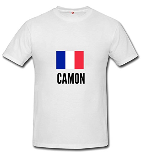 T-shirt Camon city white