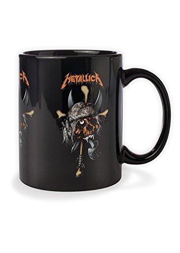 Metallica - Tazza di ceramica, motivo: pirata, colore: nero