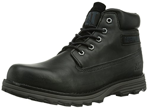 Caterpillar Founder, Scarponcini Uomo, Nero (Noir (Black)), 42