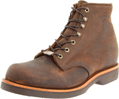 "Chippewa Men's 20065 6"" Rugged Handcrafted Lace-Up Boot,Chocolate Apache,9.5 2E US"