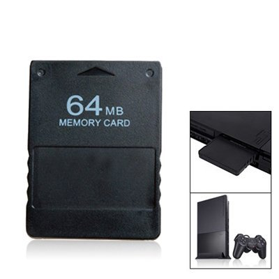 64 MB Memory Card For SONY PS2 Playstation