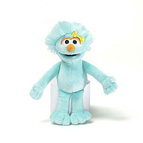 "Sesame Street Rosita Plush Beanbag Toy by Gund 7"" - 1"