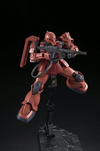 HG機動戦士ガンダム THE ORIGIN MS-05S シャア専用ザクI 1/144スケール 色分け済みプラモデル