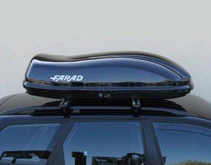 coffre de toit pour voiture farad ligne f3 400 lt noir m tallis. Black Bedroom Furniture Sets. Home Design Ideas