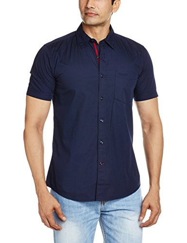 Wrangler-Mens-Casual-Shirt-8907222397050WRSH6187XX-LargeNavy