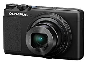 Olympus STYLUS XZ-10 Digital Camera - Black (12MP, F1.8-2.7 5x i.Zuiko Wide Optical Zoom) 3 inch Touch LCD