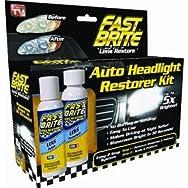 Fast Brite Headlight Restorer - As Seen On TV-FAST BRITE LENS RESTORE