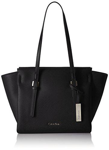 Calvin Klein JeansM4RISSA MEDIUM TOTE - Borse a Tracolla Donna , Nero (Nero (Black 001)), 25x41x13 cm (B x H x T)