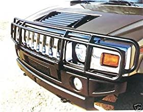 Hummer H2 Black Deluxe Grille Guard 2003, 2004, 2005, 2006, 2007, 2008, 2009