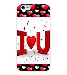 ColourCraft Love Quote Design Back Case Cover for APPLE IPHONE 6S