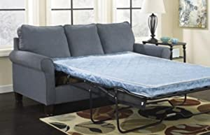 Zeth - Denim Queen Sofa Sleeper by Ashley
