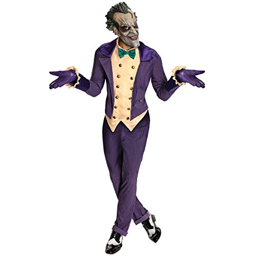 Batman: Arkham City Jokertrade; Adult Costume