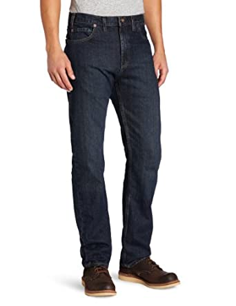 Dickies Men's Slim Straight Fit Five Pocket Jean, Stone Washed, 30X32