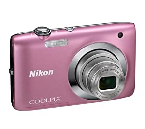 NIKON S2600 - pink Plus 8 GB SDHC Memory Card Plus Ultra Compact Case