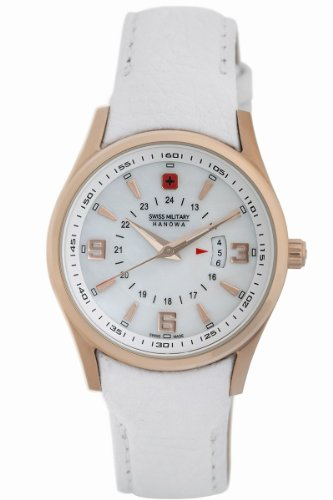 Swiss Military Hanowa Women's 06-6155-09-001 Navalus Classic Leather Watch