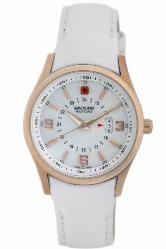 Swiss Military Hanowa Women's 06-6155-09-001 Navalus Classic Leather Watch