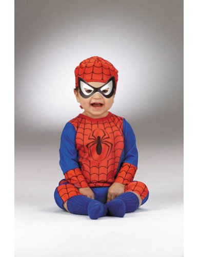 Baby-Toddler-Costume Spiderman Baby Costume 3-18 Month Halloween Costume