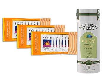 トンカットアリ配合 やおろず 1箱 + 赤ガウクルア 配合 もとふく朝 30包