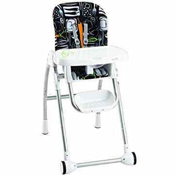 Evenflo Modern Kitchen 200 High Chair, Crayon Scribbles