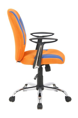 VIVA OFFICE Mid Back Mesh Chair With Adjustable Seat