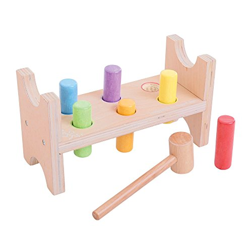 Bigjigs Baby First Hammer Bench - 1