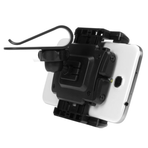 Supporto auto visiera parasole ikross universale supporto - Porta iphone auto ...
