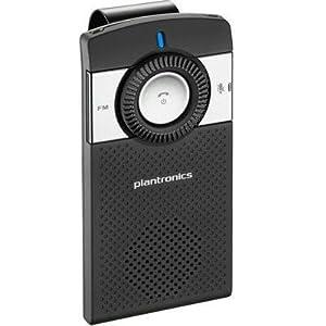Plantronics K100 Portable Bluetooth Car Kit - Black