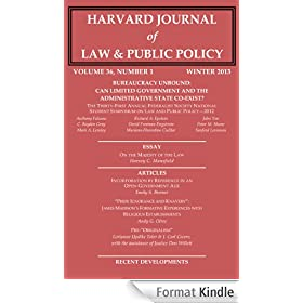 Harvard Journal of Law & Public Policy, Volume 36, Issue 1 (Pages 1 - 402) (English Edition)
