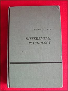 differential psychology Individual differences psychology focuses on this second level of study it is also sometimes called differential psychology because researchers in this area study.