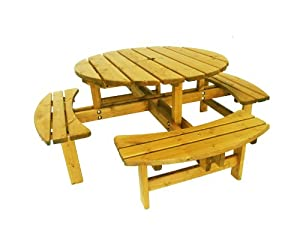 Peter Smith Cotswold 8 Seater Picnic Table