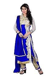 Harsiddhi creation Art Silk Women Salwar Suit Sets