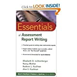img - for Essentials of Assessment Report Writing (Essentials of Psychological Assessment) [Paperback] book / textbook / text book