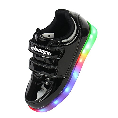 Shinmax-LED-Kid-Shoes-LED-Sneakers-Shoes-CE-certification-7-Colors-Changing-Flashing-USB-charging